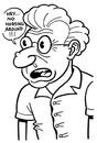 Cartoon: toon 37 (small) by kernunnos tagged nose,with,wart,on,it,and,googly,eyes,how,comical,haha,tee,hee,chortle