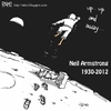 Cartoon: neil armstrong (small) by raim tagged neil,armstrong