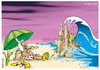 Cartoon: Persian Gulf (small) by Ali Miraee tagged miraie,mirayi,miraee,ali,iran,gulf,persian