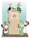 Cartoon: Afghan Election! (small) by Shahid Atiq tagged afghanistan,election