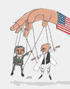 Cartoon: afghan Marionette (small) by Afghancartoon tagged 0190