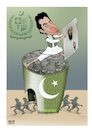 Cartoon: PAK and bin laden ! (small) by Shahid Atiq tagged afghanistan