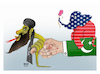 Cartoon: Terrorism in the hand of PAK! (small) by Shahid Atiq tagged afghanistan