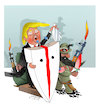 Cartoon: Trump and Afghanistan! (small) by Afghancartoon tagged afghanistan,balkh,helmand,kabul,london,nangarhar,and,ghor,attack
