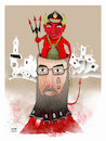 Cartoon: Warlords Hekmatyar ! (small) by Shahid Atiq tagged afganistan