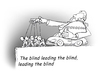 Cartoon: all are blind (small) by gonopolsky tagged financial,crisis