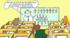 Cartoon: lesson (small) by gonopolsky tagged communication