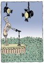 Cartoon: Show (small) by alves tagged media,culture