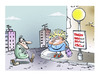 Cartoon: Two Euros (small) by llobet tagged toys,sex,love,tariff,euro