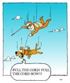 Cartoon: service animal (small) by sardonic salad tagged seeing,eye,dog,skydive