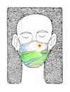 Cartoon: After Corona (small) by ercan baysal tagged mask,corona,beautifuldays,healt,pandemi,draw,drawing,cartoon,illustration