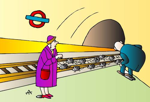 Cartoon: Tube (medium) by Alexei Talimonov tagged tube