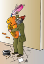 Cartoon: Antifreeze (small) by Alexei Talimonov tagged freeze music