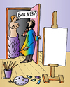 Cartoon: artist box (small) by Alexei Talimonov tagged artist art