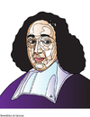 Cartoon: Benedictus de Spinoza (small) by Alexei Talimonov tagged spinoza