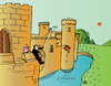 Cartoon: Castle (small) by Alexei Talimonov tagged castle