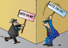 Cartoon: Election (small) by Alexei Talimonov tagged election