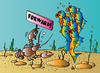 Cartoon: Forward! (small) by Alexei Talimonov tagged forward