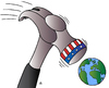 Cartoon: Hammer (small) by Alexei Talimonov tagged hammer