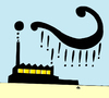 Cartoon: Industry (small) by Alexei Talimonov tagged industry,climate,change