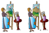 Cartoon: Picture (small) by Alexei Talimonov tagged picture,painting
