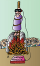Cartoon: Virtuous Reality (small) by Alexei Talimonov tagged virtuous,reality