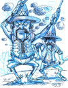 Cartoon: Mexicans (small) by Cartoons and Illustrations by Jim McDermott tagged mexicans,sketchbook