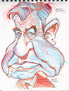 Cartoon: Walter Matthau (small) by Cartoons and Illustrations by Jim McDermott tagged sketchbook,actors,caricatures