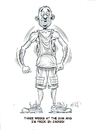 Cartoon: Workout (small) by Cartoons and Illustrations by Jim McDermott tagged workout,gym