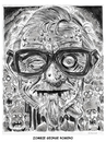 Cartoon: Zombie George Romero (small) by Cartoons and Illustrations by Jim McDermott tagged zombie,georgeromero,caricatures,movies,horror,scarry