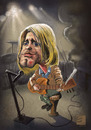 Cartoon: Curt Cobain (small) by elidorkruja tagged curt,cobain