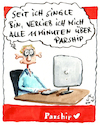 Cartoon: Parship (small) by huehn tagged parship,verlieben,liebe,single