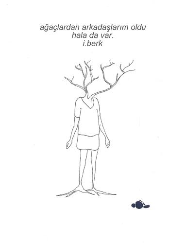 Cartoon: I have friends from the trees (medium) by adimizi tagged cizgi