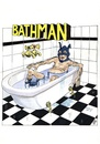 Cartoon: Bathman (small) by jean gouders cartoons tagged batman,superheroes,jean,gouders