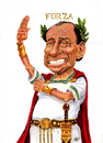 Cartoon: Berlusconi (small) by jean gouders cartoons tagged berlusconi,populist,jean,gouders