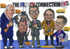 Cartoon: The french connection (small) by jean gouders cartoons tagged cartoonists,jean,gouders