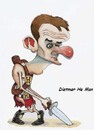 Cartoon: Dietmar He-Man (small) by paktoons tagged pak,cartoon,hamaan,caricature