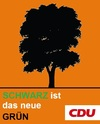 Cartoon: CDU-Wahlplakat (small) by Paramantus tagged cdu wahlen wahlplakat merkel atom moratorium akw