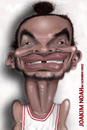 Cartoon: joakim noah (small) by gerardo tagged nba,joakim,noah