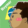 Cartoon: Neymar (small) by TiNG tagged neymar,bra