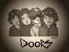 Cartoon: The Doors (small) by isacomics tagged isacomics,isa,comics,music
