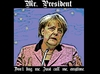 Cartoon: Angela Merkel NSA Meme (small) by aceart tagged angela,merkel,german,germany,chancellor,nsa,spying,snoop,eavesdrop,eavesdropping,wiretapping,politics,diplomacy,surveillance,espionage,scandal,online,games,gaming,slots,alljackpots