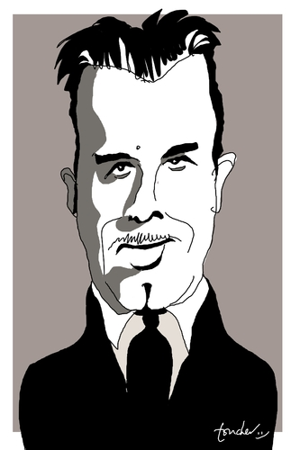 Cartoon: John Dillinger (medium) by Bravemaina tagged dillinger