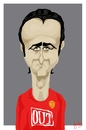 Cartoon: Berbatov (small) by Bravemaina tagged dimitar,berbatov,bulgaria,football,soccer,manchester,united