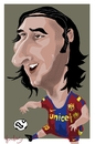 Cartoon: Leo Messi (small) by Bravemaina tagged leo,messi,argentine,barcelona,soccer,football