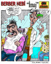 Cartoon: barber (small) by aceratur tagged barber