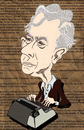 Cartoon: Mario Vargas Llosa (small) by ana001 tagged mario,vargas,llosa,nobel,prize,literature,2010