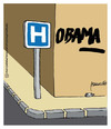 Cartoon: Hobama (small) by marcosymolduras tagged obama sanidad