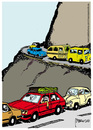 Cartoon: Vacation (small) by marcosymolduras tagged road vacation