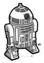Cartoon: R2 Unit (small) by elle62 tagged star,wars,fanart,trooper,scifi